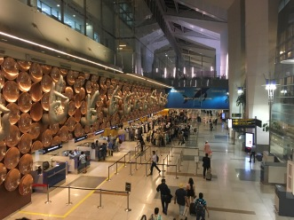 New Delhi Airport : Passport/Visa Check Counters