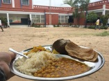 Delicious Meal at the Community Center