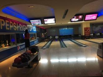 Bowling at Blu-O (I Won)