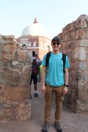 My pretty face and the Mausoleum of Ghiyath al-Din Tughluq