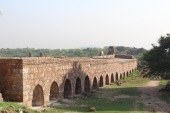 Gazi Malik Built this Fort as King of the Tughlaq Dynasty in 1321