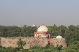 Mausoleum of Ghiyath al-Din Tughluq From Tughlaqabad Fort