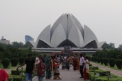 Lotus Temple (Bahá'í House of Worship completed in 1986)