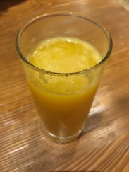 Squeezed this OJ myself. Not really, but it tasted like I did.