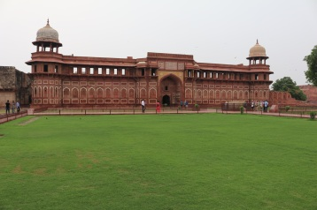 Agra Fort, a UNESCO Heritage Site.