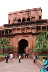 Entrance to Agra Fort.